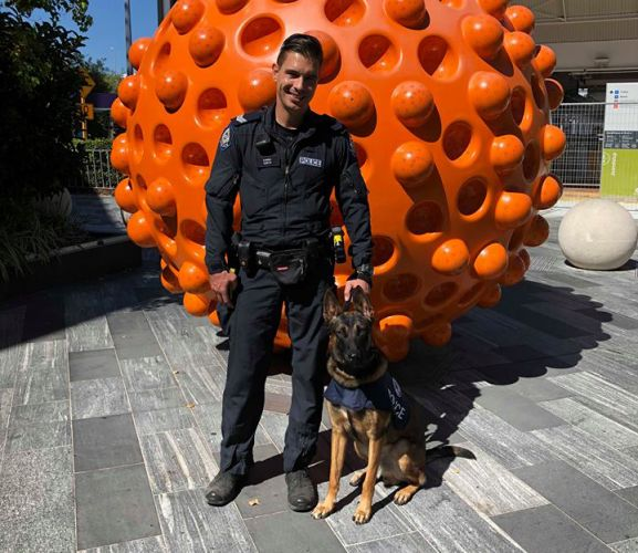 The WA Police canine unit will use Lakeside Joondalup Shopping City as a training ground.