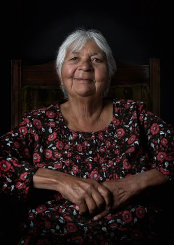 Artist Laurel Nannup. Photo: Eva Fernandez.