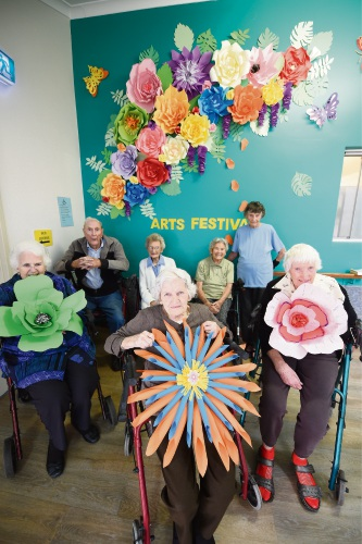 Colourful mural brightens up Mandurah's Wearne House