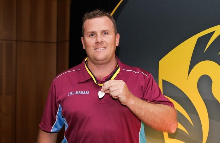Olly Cooley Medallist - Craig Simmons. Photo by Keane Bourke.