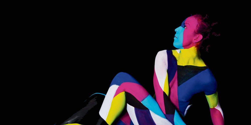 Body painting by artist Kirrilli Heath.