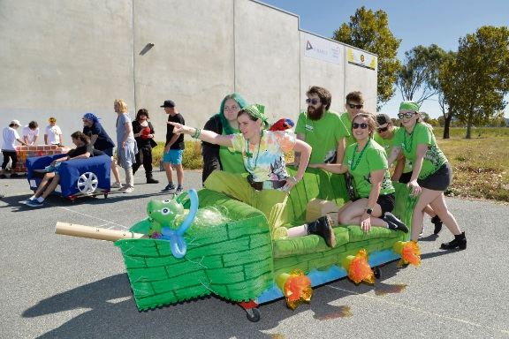 The annual Rockingham Couch Surf for Youth Homelessness Matters Day event aims to raise awareness of couch surfing and homelessness amongst young people. Picture: City of Rockingham.