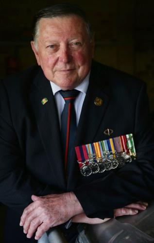 Vietnam War veteran Alan McNulty. Picture: Martin Kennealey www.communitypix.com.au d492406