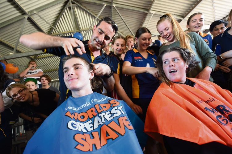 Mandurah Baptist College students raised thousands for World's Greatest Shave