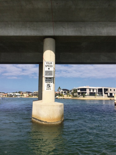 Speed radar trial targets boats on Mandurah estuary