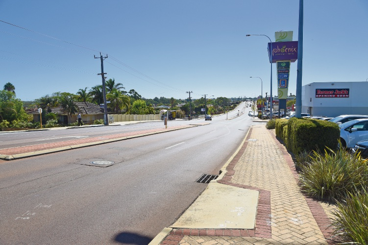 Rockingham Road in Spearwood.