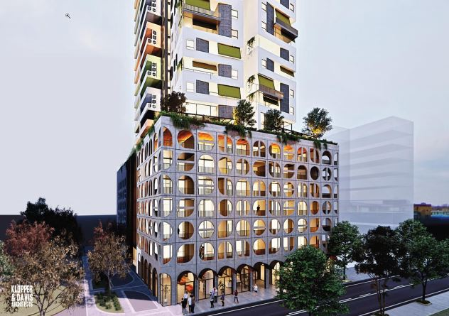 Proposed development for Pier Street, Perth