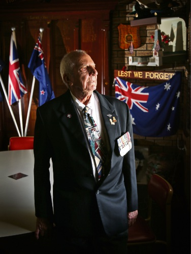 Terry Reynolds of Gosnells (Past President and Secretary and now committee member at the Canning Districts RSL Sub-Branch). Picture: David Baylis. d492452.