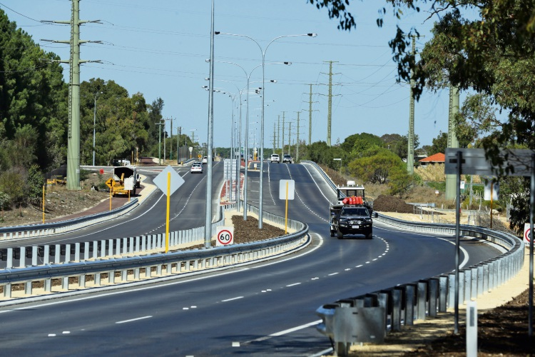 The Wanneroo Road dual carriageway opened this week. d492697