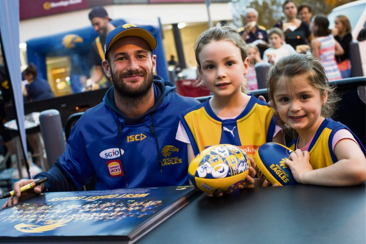 Opportunity for kids to meet AFL greats