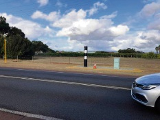 New fixed speed camera installed north of Perth
