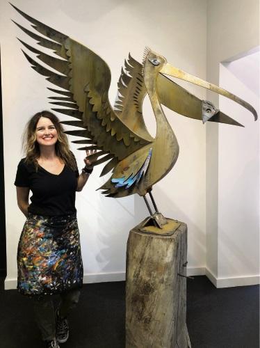 Mandurah artist Emma Blyth releases her first sculpture