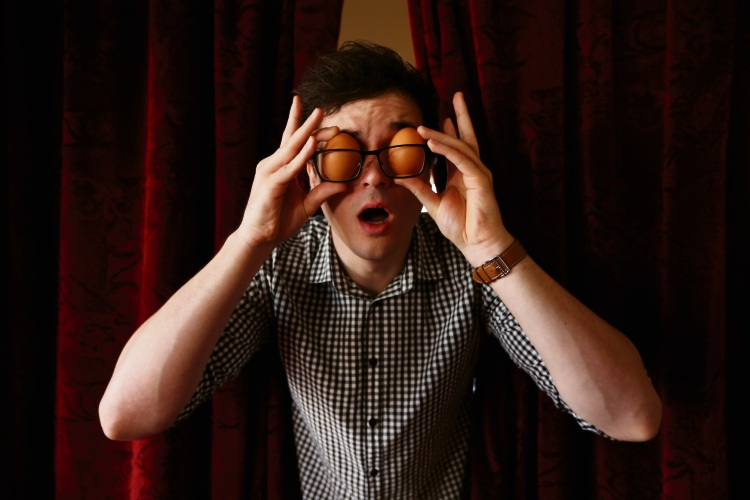 Matt Storer will bring a new show ''Good Egg'' to this year's Perth Comedy Festival. Picture: Andrew Ritchie