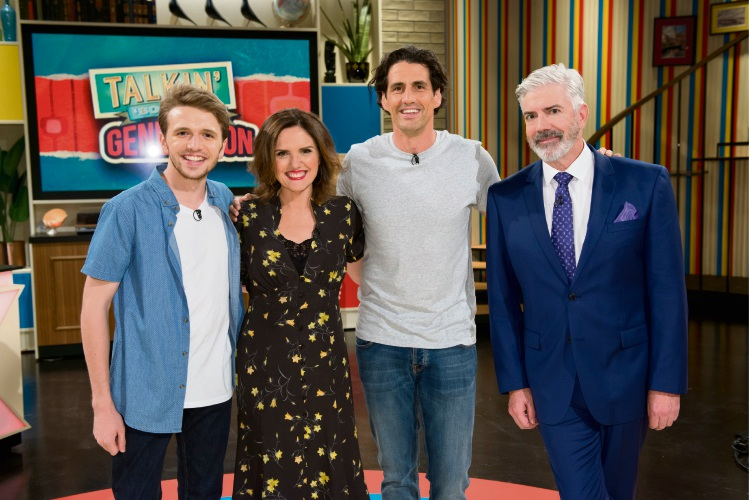Laurence Boxhall, Robyn Butler, Andy Lee and Shaun Micallef.