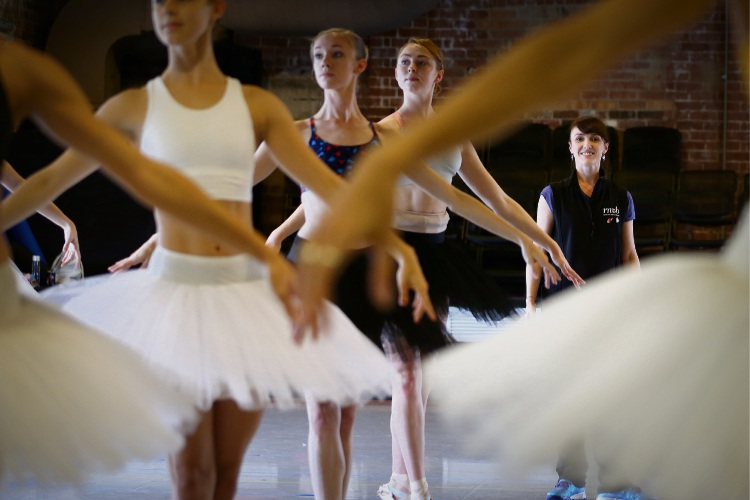 Assistant repetiteur Clytie Campbell with WA Ballet. Picture: Andrew Ritchie d492514