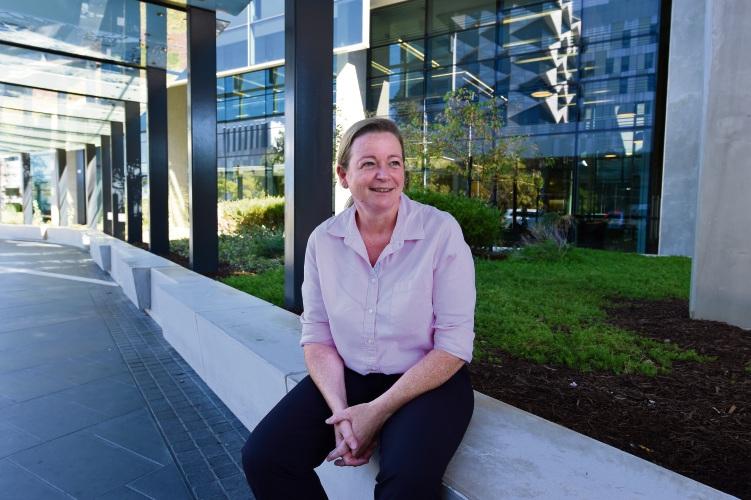 d492716 Fiona Stanley Fremantle Hospitals Group infection prevention coordinator Ann Whitfield. Picture: Jon Hewson