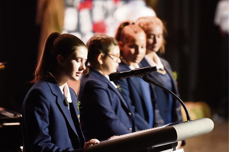 Lana Devine, Montana Nie, Cassidy Goncalves and Matilda Fallon Picture: Jon Hewson www.communitypix.com.au   d492802