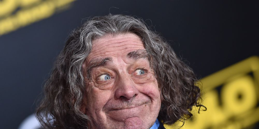 HOLLYWOOD, CA - MAY 10:  Actor Peter Mayhew arrives at the premiere of Disney Pictures and Lucasfilm's 'Solo: A Star Wars Story' at the El Capitan Theatre on May 10, 2018 in Hollywood, California.  (Photo by Axelle/Bauer-Griffin/FilmMagic)