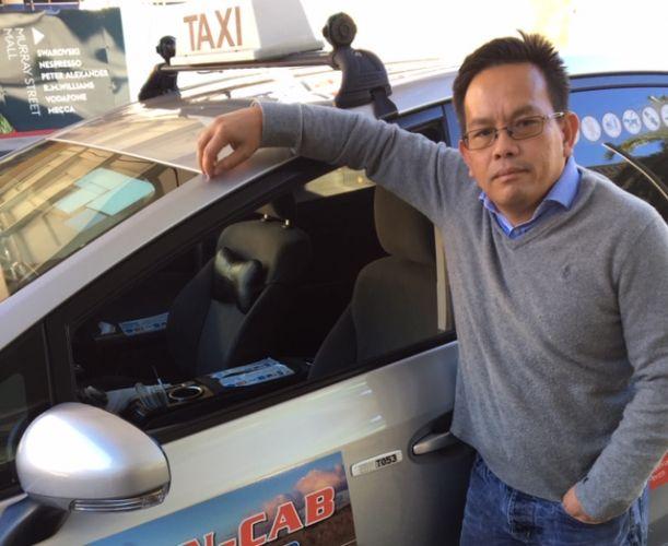 Taxi driver Hieu Tran.