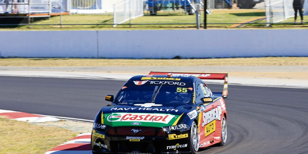 Chaz Mostert was second fastest in the second practice. Picture: Barnsiesphotos