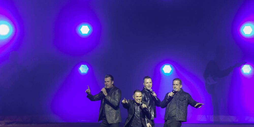 Human Nature kicked off their Little more to love tour in Perth on Saturday night. Picture: Kelly Pilgrim-Byrne.