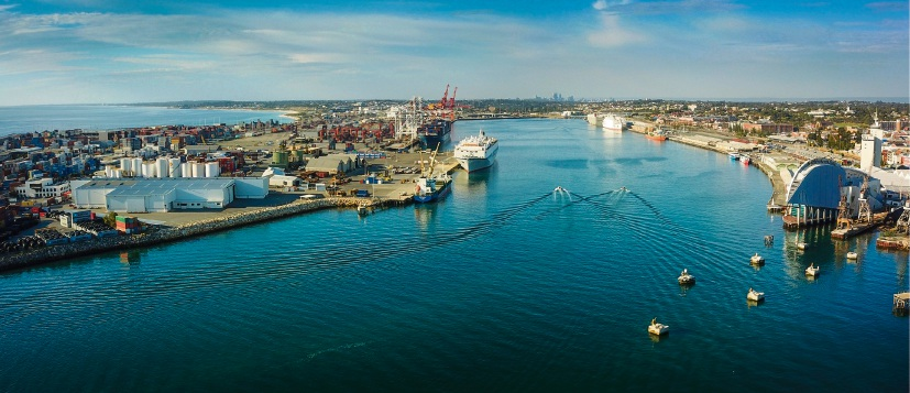 Fremantle Harbour. Picture: Andrew Ritchie