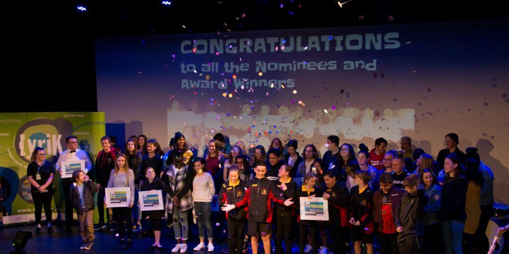 The 2018 LyriK Awards ceremony