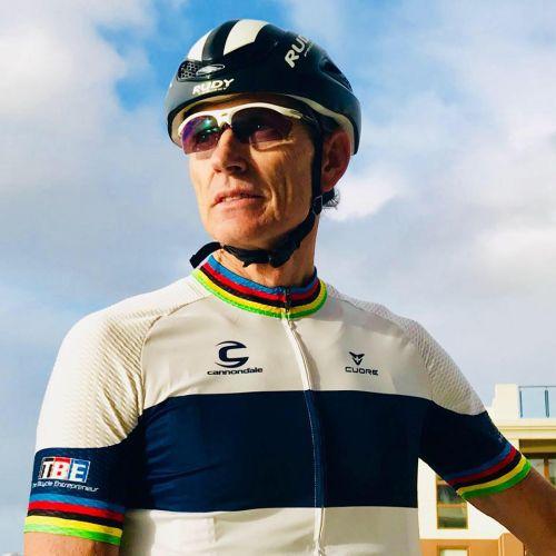 Cycling legend returns to Kalamunda where it all began