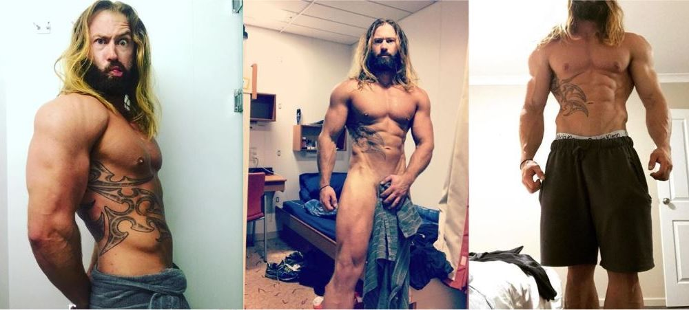 'Thor blimey': One Nation candidate flaunts six-pack for voters