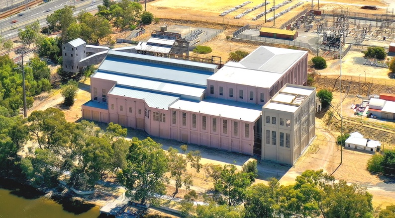 East Perth Power Station. Picture: Department of Planning, Lands and Heritage.