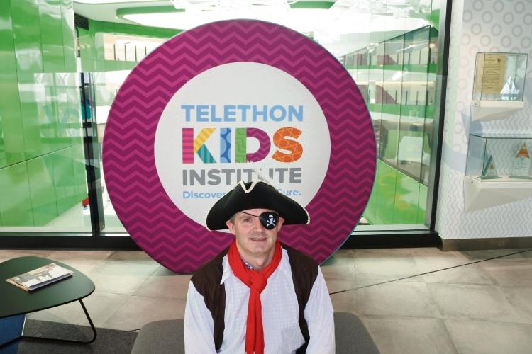 Telethon Kids Institute scientist Dr Nick Gottardo
