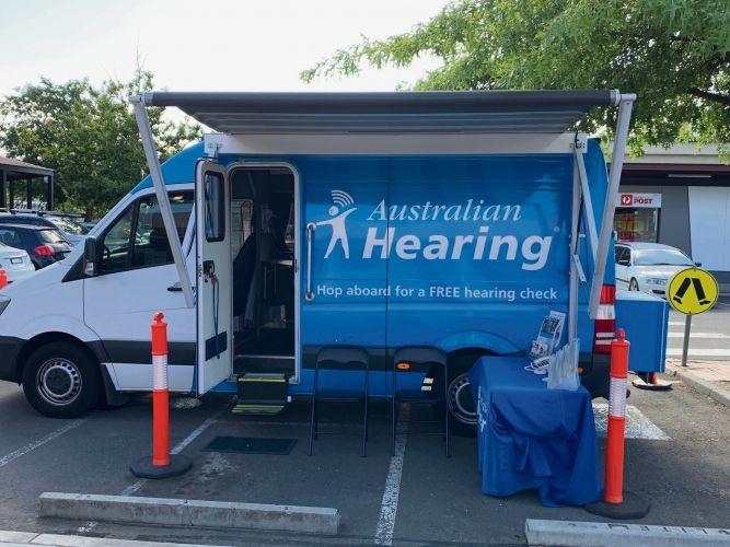 The Australian Hearing Bus.