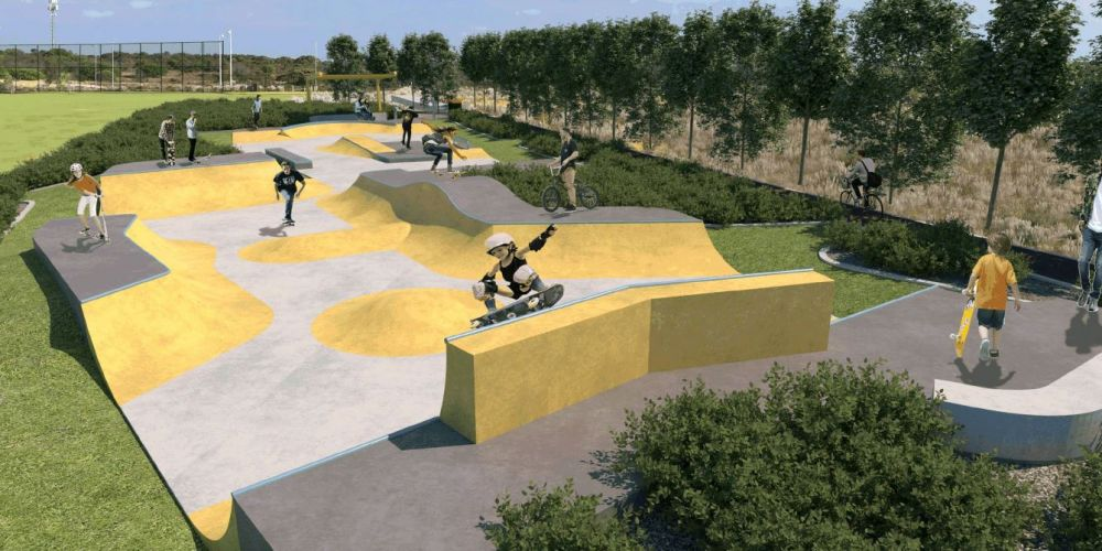 A May concept plan for Yanchep skate park.