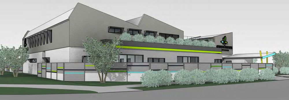 An artist impression of the proposed childcare centre for Porter Street, Gwelup.