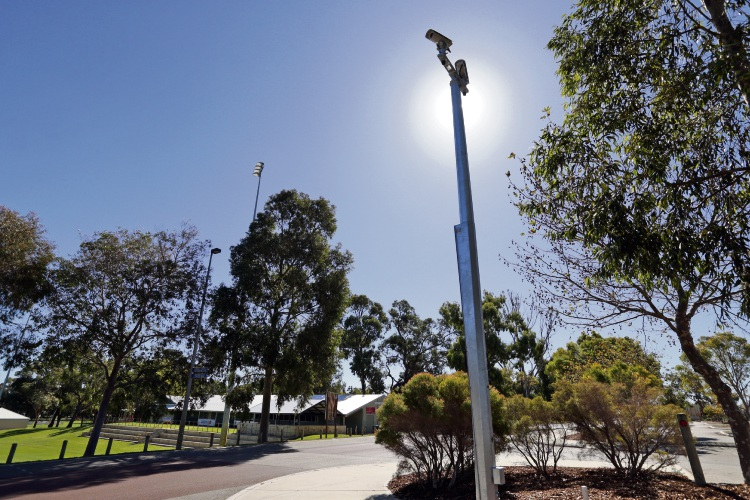 CCTV cameras at Kingsway Regional Sporting Complex in the City of Wanneroo. d492876