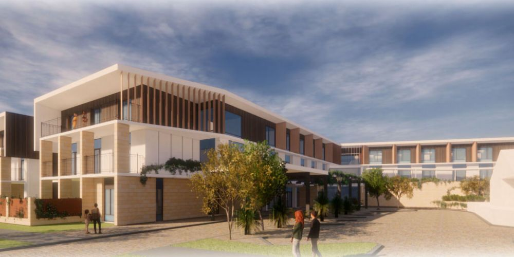 Artist impressions of the proposed dementia care facility in Kinross.