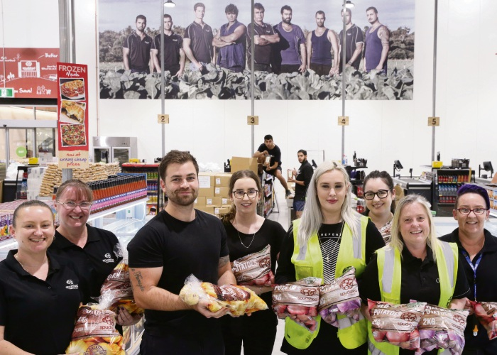 Potatoes aplenty as Spudshed opens Butler store
