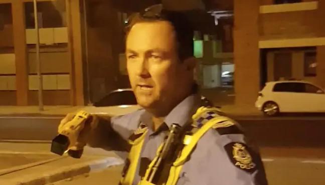 Taser cop Grantley Keenan has been found guilty.