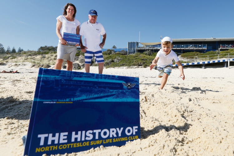 Book dives into 100 years of history at North Cottesloe SLSC