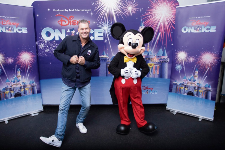 Tom Williams first Aussie dad ambassador for Disney on Ice celebrates Mickey and Friends