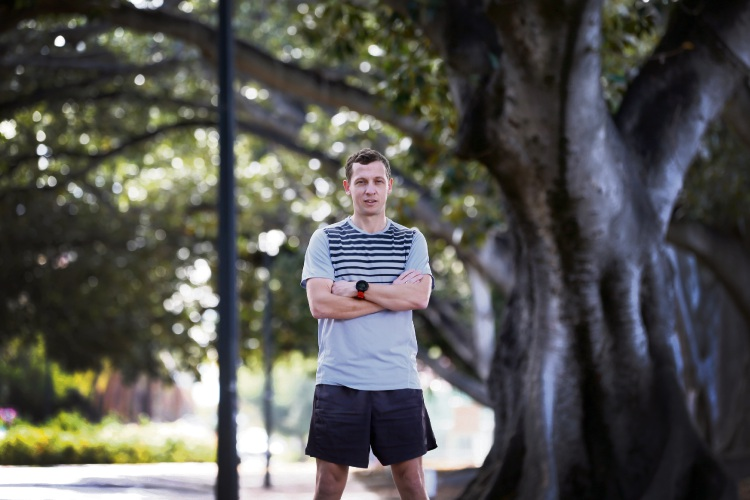 Adrian Fabiankovits is a 33 year old married man from Dianella, living with CF. Picture: Andrew Ritchie www.communitypix.com.au d493209