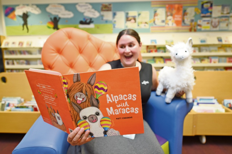 Snuggle in for a special bedtime reading of Alpacas with Maracas at Kwinana Public Library
