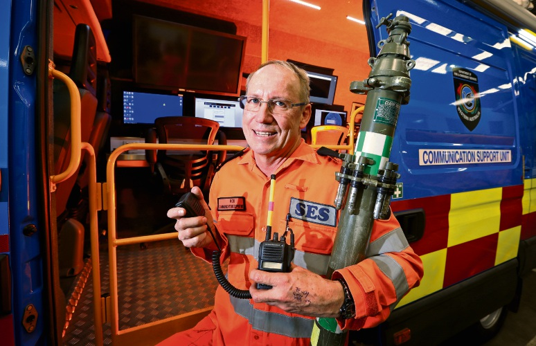 Thornlie resident reflects on 40 years as SES volunteer