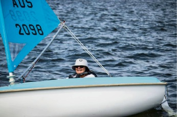Rockingham sailing enthusiast competing in national comps
