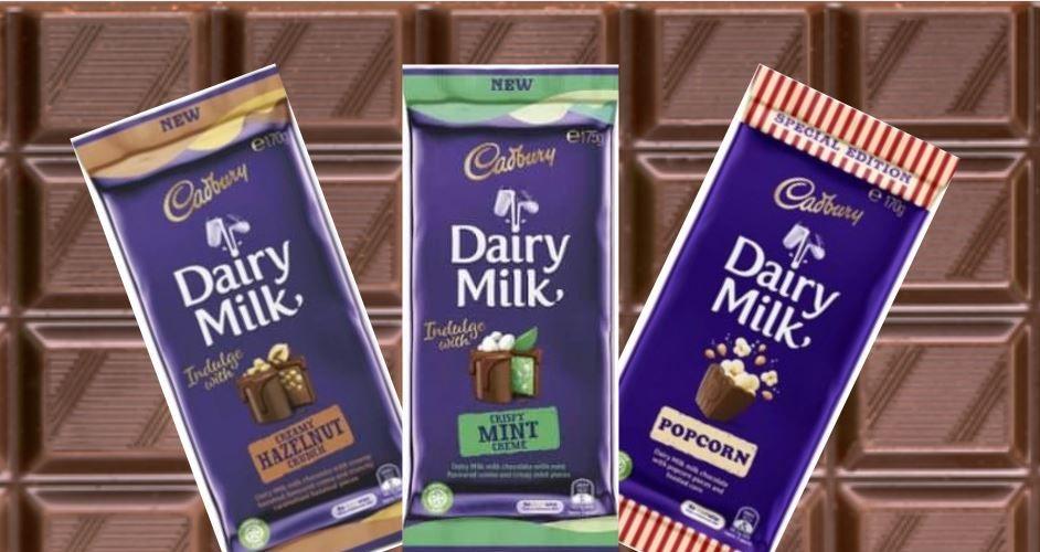 Cadbury has five new chocolate flavours | Community News Group