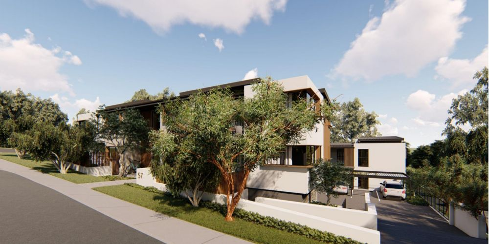 Artist impressions of the proposed over-55s apartment development at 57 Marri Road, Duncraig.