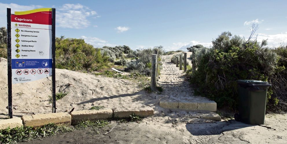Capricorn Yanchep developers have received a clearing permit to develop the foreshore. File picture: Martin Kennealey