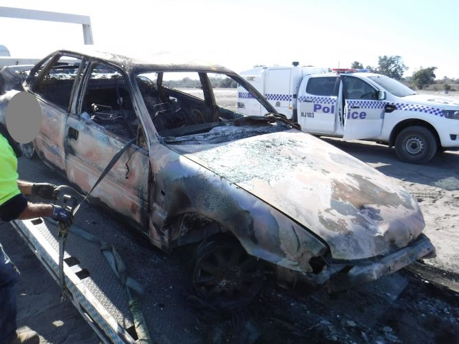 The vehicle was located in Pinjar.