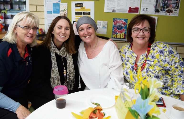 Deb Pember, Kirsten Barton, Laura Dunn and Gaye Yanev. Pictures: Martin Kennealey www.communitypix.com.au d493350