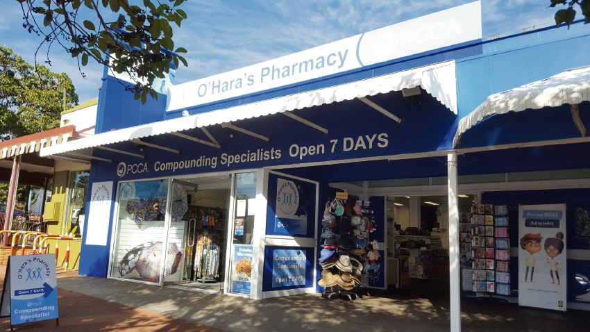 O'Hara's Pharmacy compounding the solutions